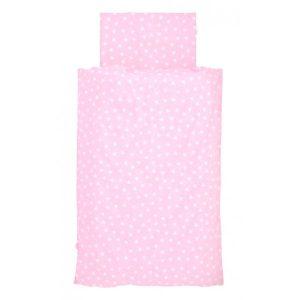 Jollein Overtrek Hearts pink 100x140cm