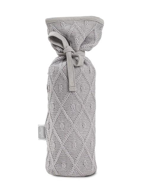 Jollein Kruikenzak Diamond Knit grey