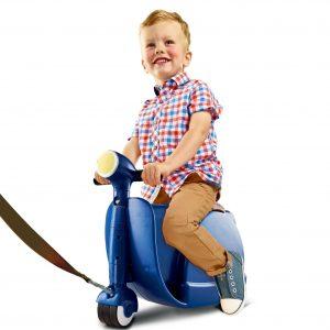 Skoot Kinderkoffer-Loopfiets Royal Blue