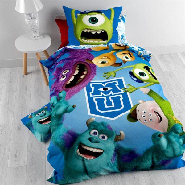 Kinderdekbedovertrek UNIV Monsters