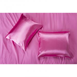 Nightlife Silk Satin Kussensloop Hot Pink