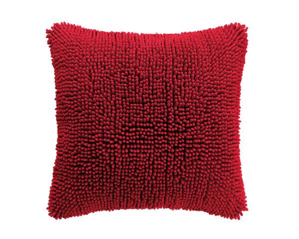 Home Living Sierkussen Shaggy Red