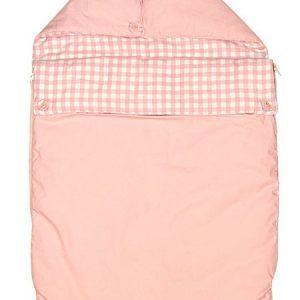 Taftan Voetenzak Ruitjes Roze