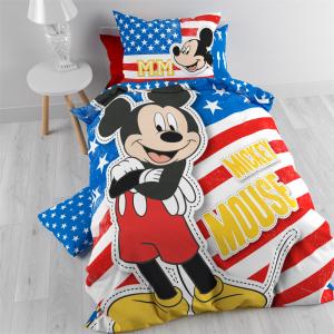 Mickey Mouse Dekbedovertrek Hollywood