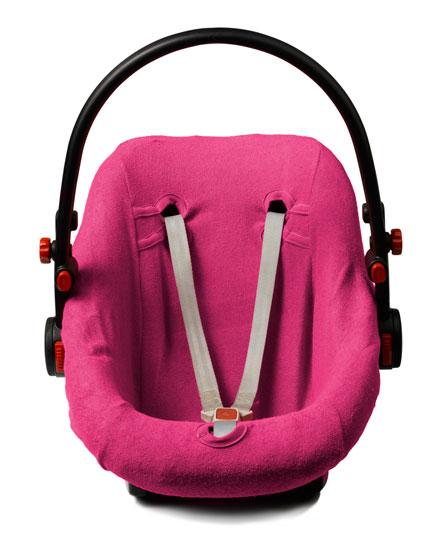Autostoelhoes Baby Fuchsia 0-12 Maanden 0+