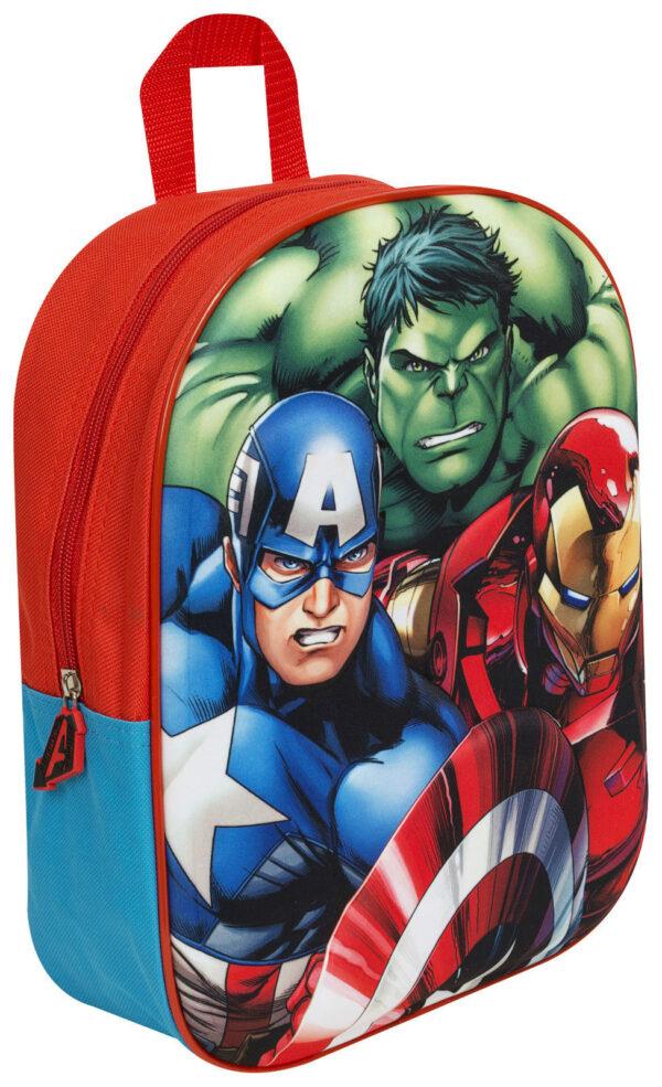 Avengers Rugzak 3-D 30x23x10cm