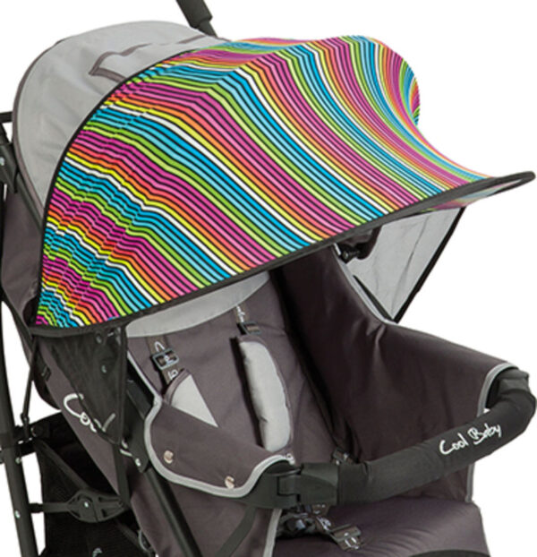 UV Kap Bescherming voor Kinderwagens Multi