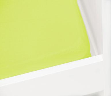 Briljant Hoeslaken Jersey 70x140/150cm Lime