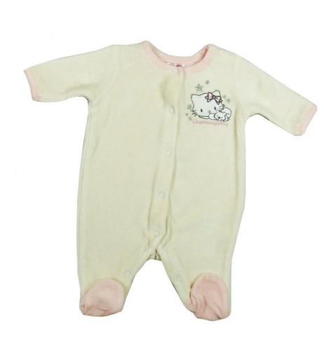 Hello Kitty Velours pakje Off-white + gratis kadoverpakking Newborn