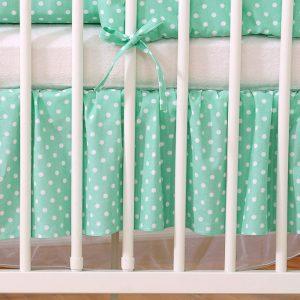 My Sweet Baby Bedrok Mint/Dots 60x120cm
