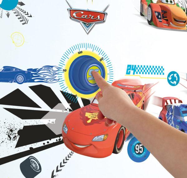 Cars Deurbel met Stickers