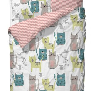Covers & Co Dekbedovertrek Meow