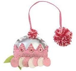 Colorique cupcake hanger Piece of Cake Roze