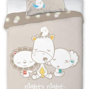 Fisher Price Dekbedovertrek Nighty 100x135cm