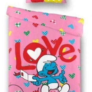 Dekbedovertrek Smurf Love