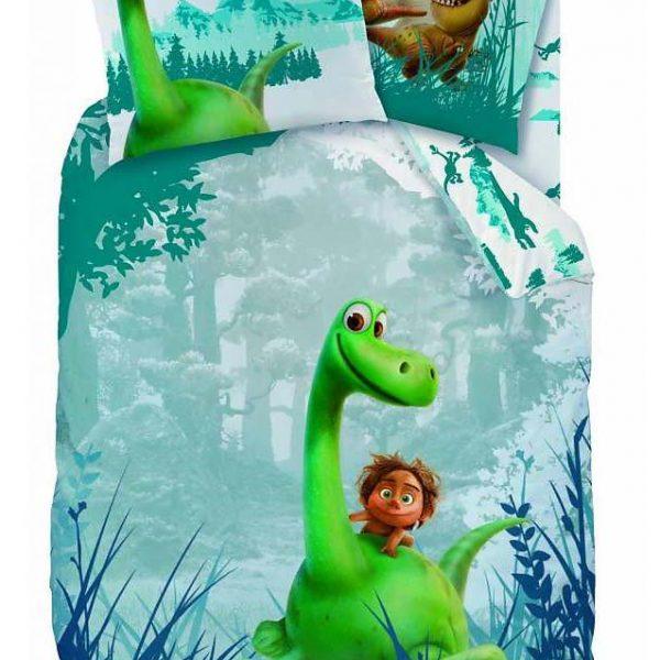 Arlo de Goede Dinosaurus Dekbed (Flanel)