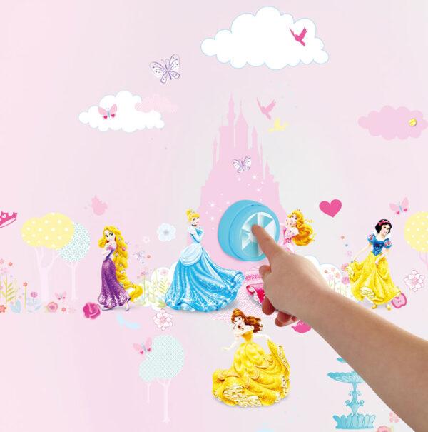 Disney Princess Deurbel met Stickers