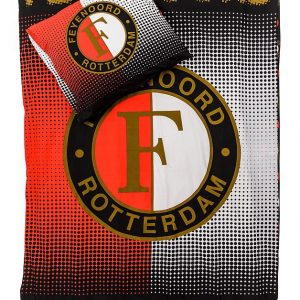 Feyenoord Dekbedovertrek Rood/Grijs