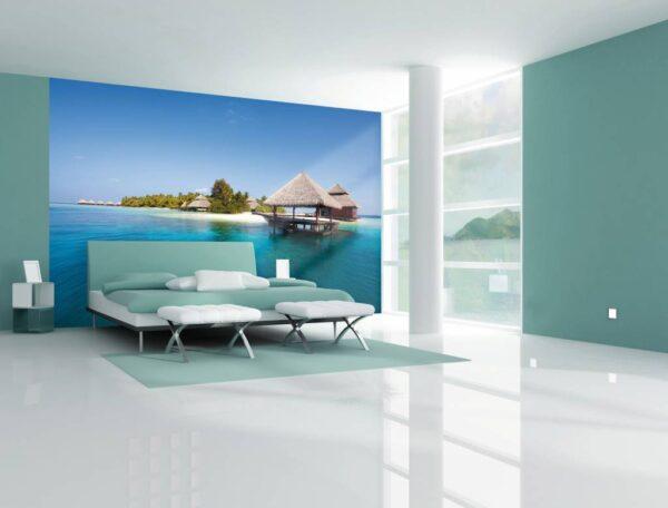 Dream Island Fotobehang (Wallpaper)