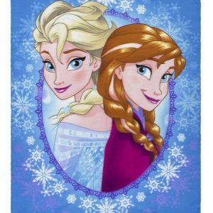 Frozen Fleece Plaid Anna & Elsa Aqua