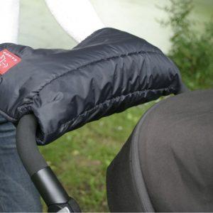 Handwarmer Fleece Zwart
