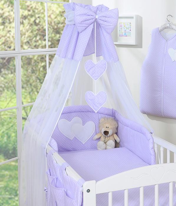 My Sweet Baby Hemeltje Strik Dots/Paars