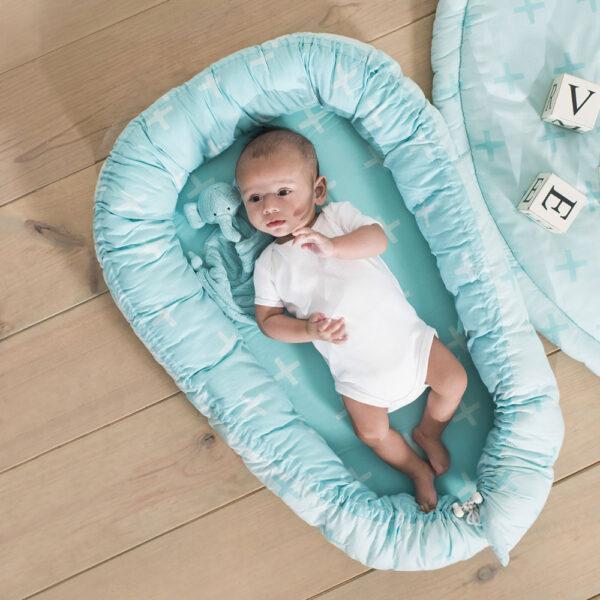 Jollein Babynest-Cocoon Plus Jade