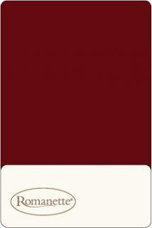 2 Kussenslopen Katoen Romanette Bordeaux