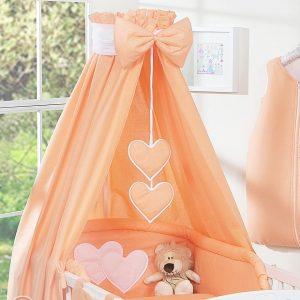 My Sweet Baby Hemel Katoen Oranje