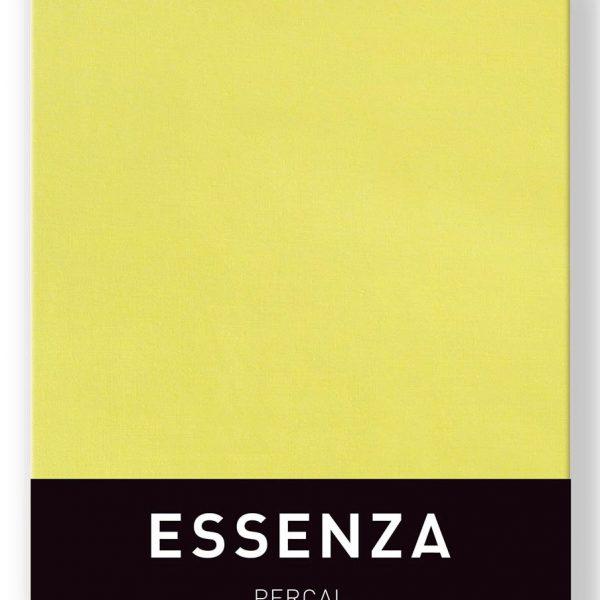Essenza Kussensloop Percal Canary Yellow (1 stuk)