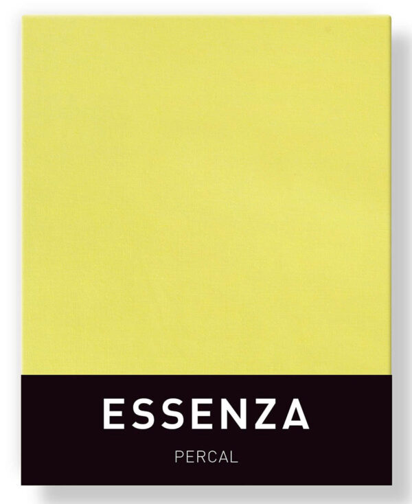 Essenza Kussensloop Percal Canary Yellow (1 stuk)