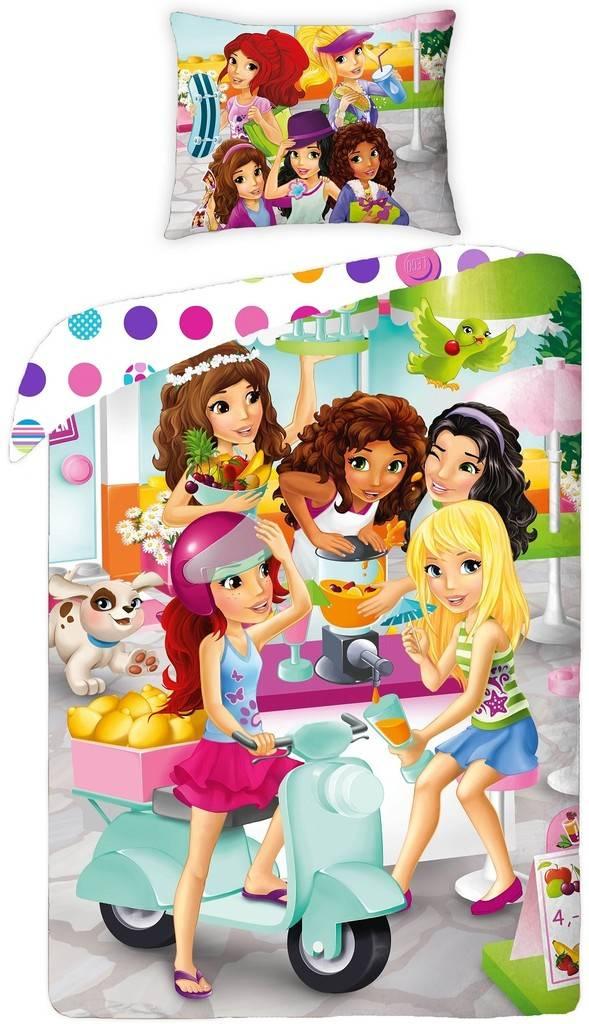 LEGO Dekbedovertrek Friends Girls