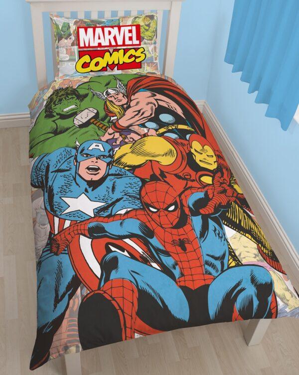 Marvel Comics Dekbed Hulk