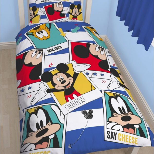 Mickey Mouse & Goofy Dekbed Pictures