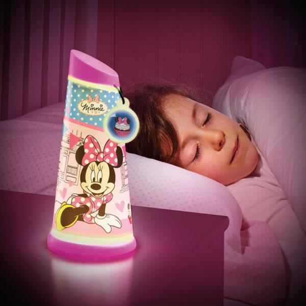 Minnie Mouse Nachtlampje Go Glow