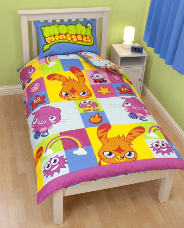 Moshi Monsters Dekbedovertrek
