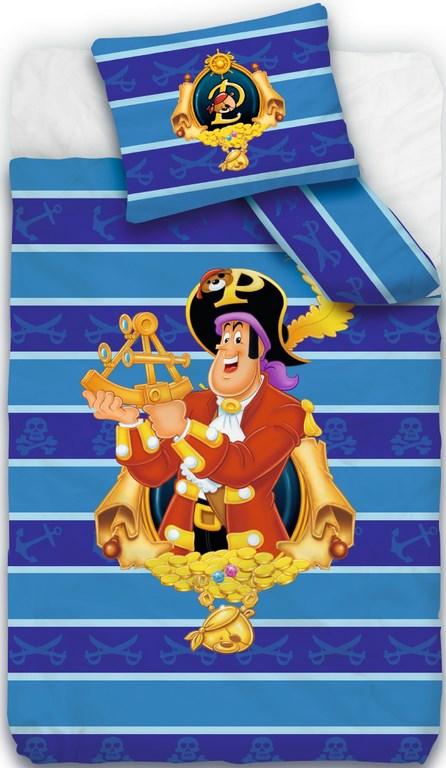 Dekbedovertrek Piet Piraat De Scheve Schuit