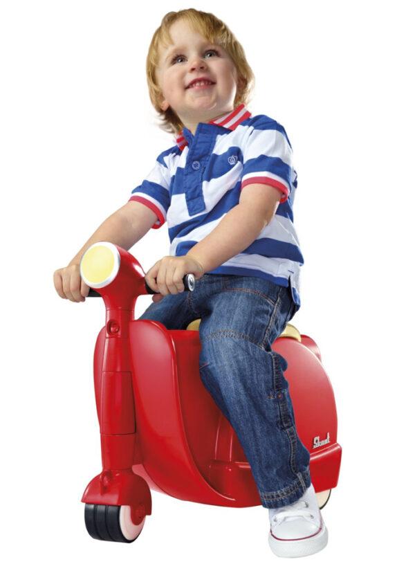 Skoot Kinderkoffer-Loopfiets Rood