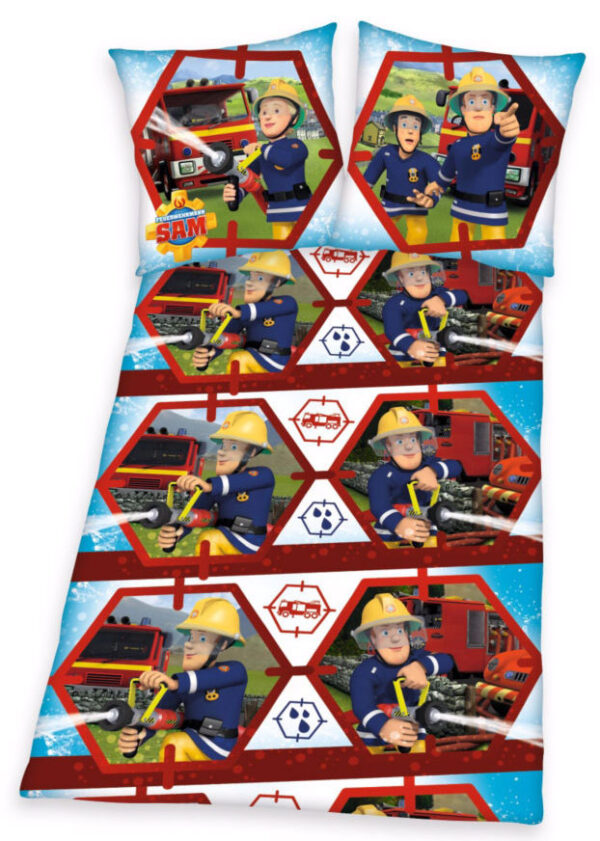 Brandweerman Sam Dekbedovertrek Action