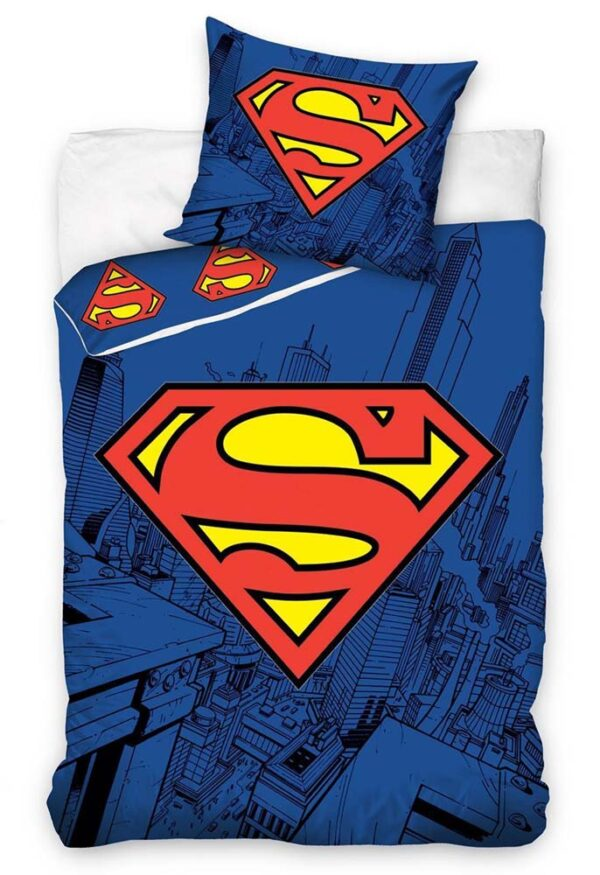 Superman Dekbedovertrek Logo
