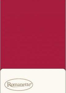2 Kussenslopen Katoen Romanette Rood