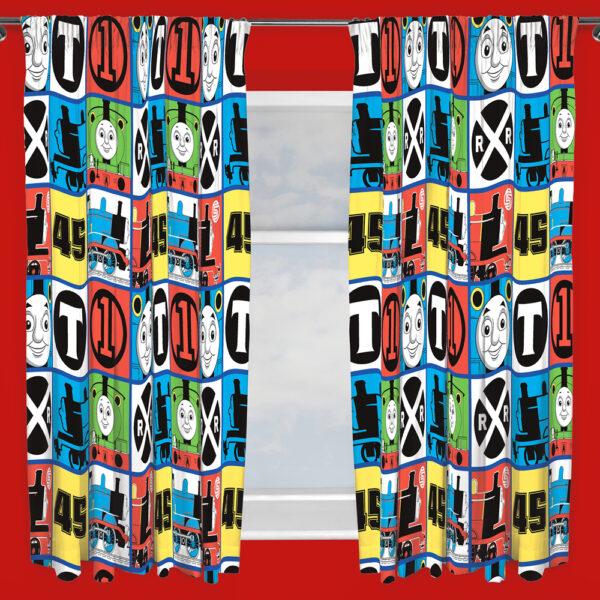 Thomas Gordijnen Set 168x183cm (2 stuks)