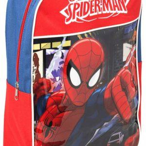 Spiderman Trolley Rugzak Blauw/Rood