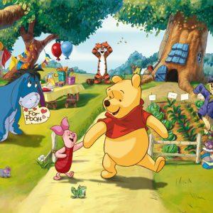 Winnie The Pooh 2 D Fotobehang (AG Design)
