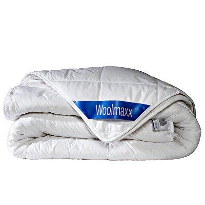 Wasbare Wol 4-Seizoenen Dekbed Woollmax .120x150cm