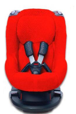 Autostoelhoes voor de Maxi Cosi Tobi Rood 1+Rug