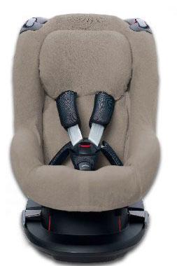 Autostoelhoes voor de Maxi Cosi Tobi Taupe 1+Rug