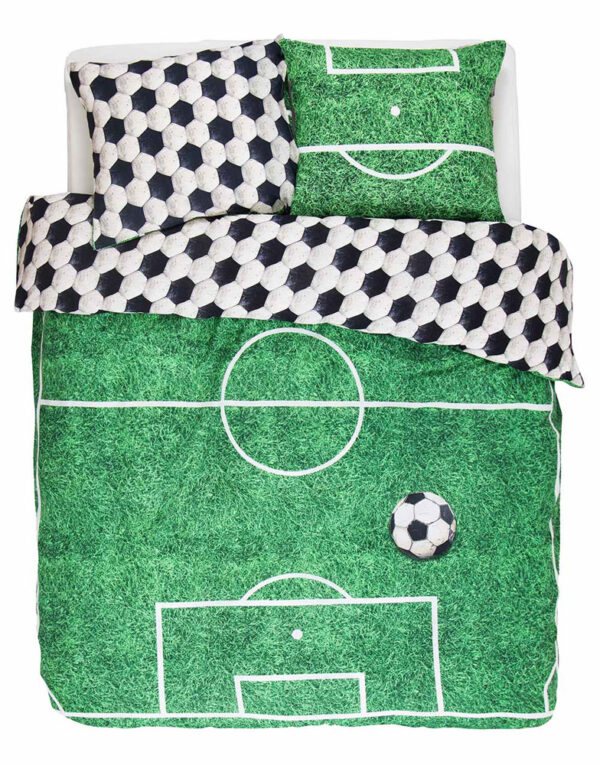 Covers & Co Dekbedovertrek Soccer-140x200/220