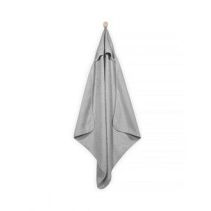 Jollein Badcape 75x75cm grijs