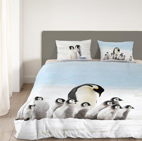 Goodmorning Dekbedovertrek Pinguins-140 x 200/220